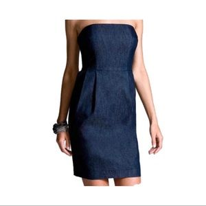 Gap Strapless Denim Dress